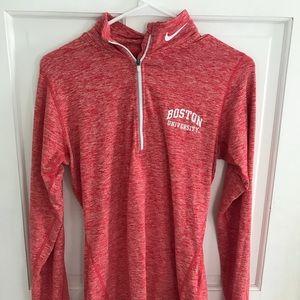 Boston University Nike Quarter zip